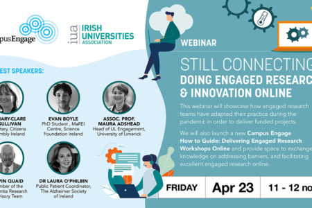 Campus Engage Spring Webinar – STILL CONNECTING: Doing Engaged Research & Innovation Online
